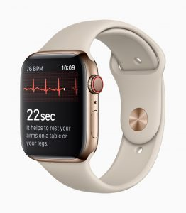 Apple Watch Series 4 health